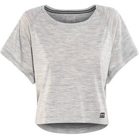 super.natural Motion Peyto - Camiseta manga corta Mujer - gris